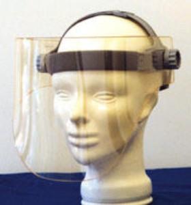 X-Ray Radiation Leaded Face Shield, Full