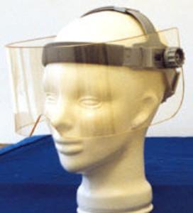 X-Ray Radiation Leaded Face Shield, Panoramic