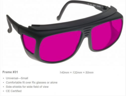 YAG Double High VLT 532-1064 OD7+ CE Certified YGH Laser Safety Glasses