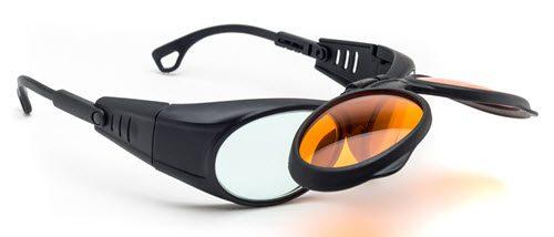 Combination Excimer/Radiation Glasses