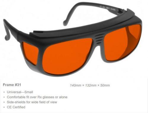 Argon/KTP 180-532nm OD 7+ VLT 48% CE Certified ARG Laser Safety Glasses