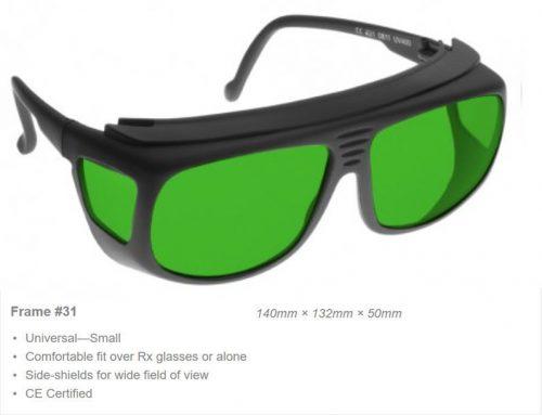 IPL/3PL Intense Pulsed Light 190-1200nm VLT 15% CE Certified 2PL Laser Safety Glasses