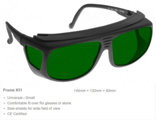 IR 7950-1400nm OD7+, 1400-1750nm OD6+ CE Certified IRD5 Laser Safety Glasses