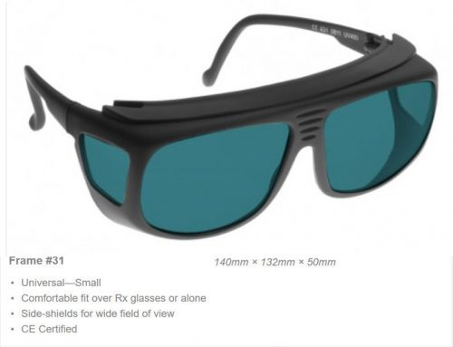 Multi-wave 950-1085nm OD 7+ VLT 45% CE Certified ML1 Laser Safety Glasses