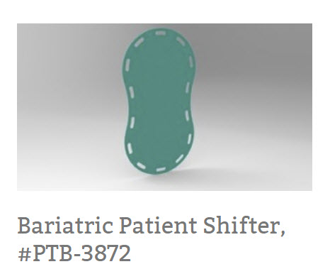 Slide Board Patient Transfer Sheet, #PTB-4755