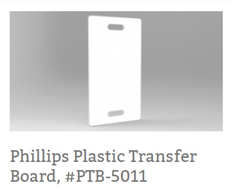 Phillips Plastic Transfer Board, #PTB-5011