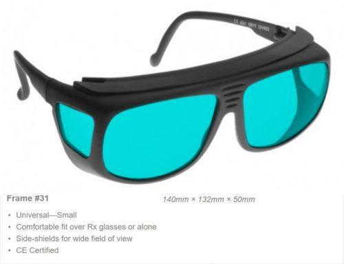 RB3 685-705nm OD 6+ VLT 56% CE Certified RB3 Laser Safety Glasses