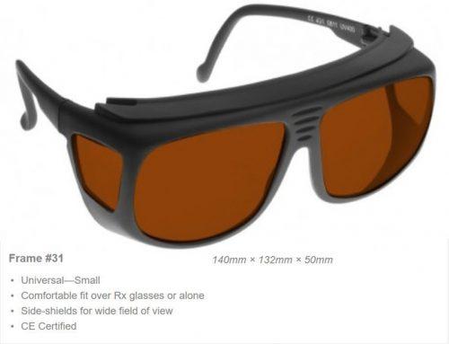 Multi-Wave Nd: YAG, Diode, Alexandrite 980-1064nm/755nm OD 7+ VLT 22% CE Certified TRI Laser Safety Glasses