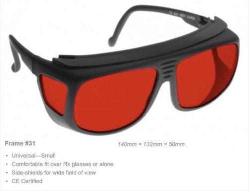 Alignment Argon/KTP 395-540nm OD 3+ VLT 19% CE Certified AL3 Laser Safety Glasses