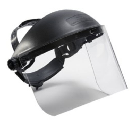 Laser Safety Face Shield for UV and CO2, #LSFS-UVCO2